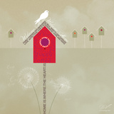 Bird House - Ivory