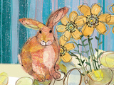 Floppy Bunny - Yellow Flowers