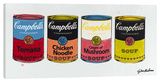 Four Campbell's Soup Cans 1