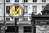 Paris Focus - Paris Métro Papier Photo par Philippe Hugonnard