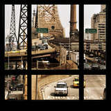 View from the Window - Queensboro Bridge Traffic