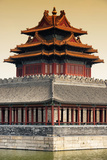 China 10MKm2 Collection - Chinese Architecture at Sunset - Forbidden City - Beijing