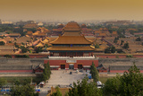 China 10MKm2 Collection - Forbidden City at Sunset