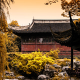 China 10MKm2 Collection - Classical Chinese Pavilion in Autumn