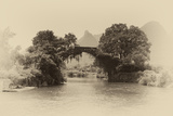 China 10MKm2 Collection - Dragon Bridge on the Yulong river