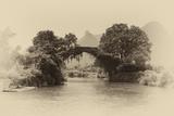 China 10MKm2 Collection - Dragon Bridge on the Yulong river