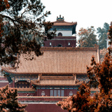 China 10MKm2 Collection - Summer Palace Architecture in Autumne