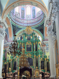 Interior of the Church of the Holy Spirit  Vilnius  Lithuania