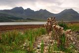 Bla Bheinn across Loch Slapin  Skye  Highland  Scotland