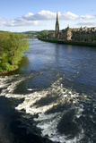 River Tay and Perth  Scotland