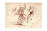 Portrait of Mr Gladstone  1896