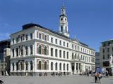 Town Hall  Riga  Latvia