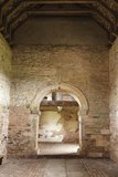 Interior of Oddas Chapel  Deerhurst  Gloucestershire  2010
