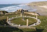 Millennium Sundial  Perranporth  Cornwall  2009