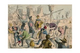 Embarkation of King Henry the Fifth at Southampton AD 1415  1850