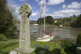 Celtic Cross  St Just in Roseland  Cornwall