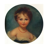 Portrait of Lady Emily Cowper  C1815  (1913)