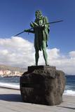 Guanche Statue  Candelaria  Tenerife  2007