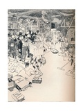The Property Room of a Clever Cartoonist  C1890