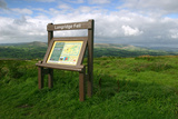 Information Board  Longridge Fell  Lancashire