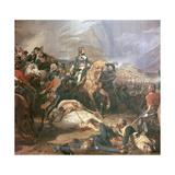 Painting of Napoleon at the Battle of Rivoli  18th Century