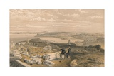 Sebastopol from Old Chersonese and Ancient Church of St Vladimir  1856