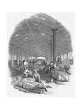 Wharf Shed of the Trafalgar Dock  Liverpool  England  1847