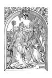 Hrotsvitha Presenting Her Book to the Emperor Otto I  1501
