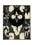 Columbine, C 1900-1930, (1925) Giclée par Harry Clarke