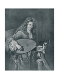 Charles Mouton  (C1626-1710) French Lutenist and Lute Composer