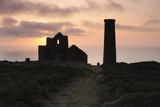 Sunset  Wheal Coates Tin Mine  St Agnes  Cornwall  2009