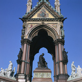 The West Side of the Albert Memorial  19th Century