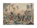 Landing of Julius Caesar  1850