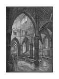 Interior of the Temple Church  London  1905