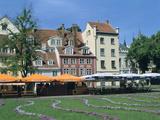 Houses on Meistaru Iela  Riga  Latvia