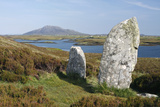 Pobull Fhinn (Finns People) Stone Circle  North Uist  Outer Hebrides  Scotland  2009