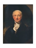 George Dance the Younger  (1741-1825)  English Architect  Surveyor and a Portraitist  1798