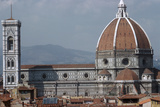 The Cathedral and Giottos Tower in Florence from the Palazzo Vecchio