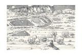 The Siege of a Fortress Ii, 1527 Giclée par Albrecht Dürer
