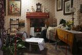 19th Century Cottage Interior  Arran Heritage Museum  Brodick  Arran  North Ayrshire  Scotland
