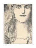 Une Tete De Face  1898