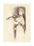 A Violinist  C1898