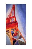 The Eiffel Tower, 1926 Giclée par Robert Delaunay