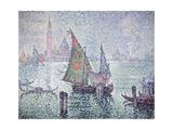 The Green Sail  Venice  1904