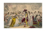 Evening Party - Time of Charles Ii  1850