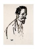 Portrait of Jehan Rictus  20th Century