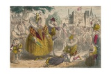 Queen Elizabeth and Sir Walter Raleigh  1850
