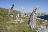Standing Stones  Great Bernera  Isle of Lewis  Outer Hebrides  Scotland  2009