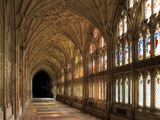 Cloisters of Gloucester Cathedral  Late 14th Century