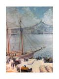 Marseille Quay  1929